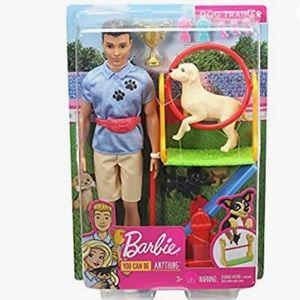 Barbie Ken Dog Trainer Playset